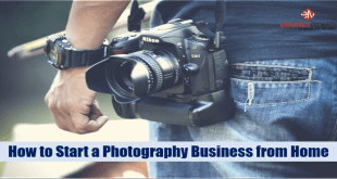 How to Start a Photography Business from Home