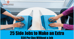 Side Jobs to Make an Extra 50 Per Day