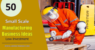 Small Scale Manufacturing Business Ideas for India with Low Investment