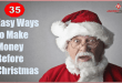35 Easy Ways to Make Money Before Christmas