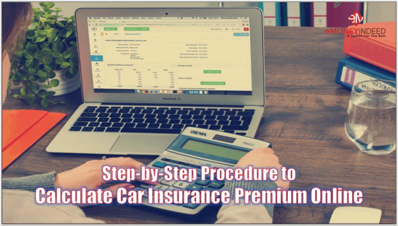 Calculate Car Insurance Premium Online