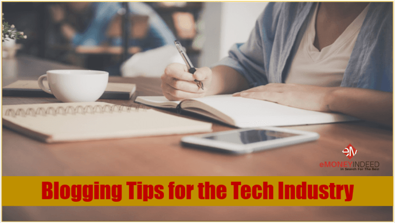 Blogging Tips for the Tech Industry