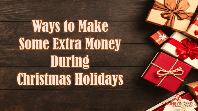 making money during the holiday season