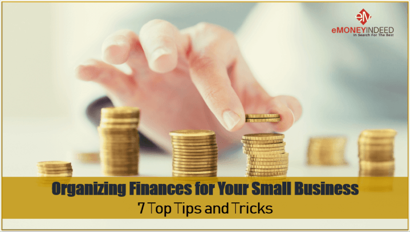 Organizing Finances for Your Small Business