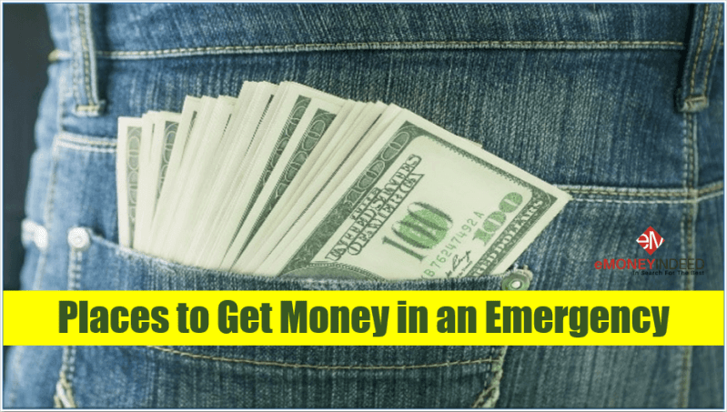 Places to Get Money in an Emergency