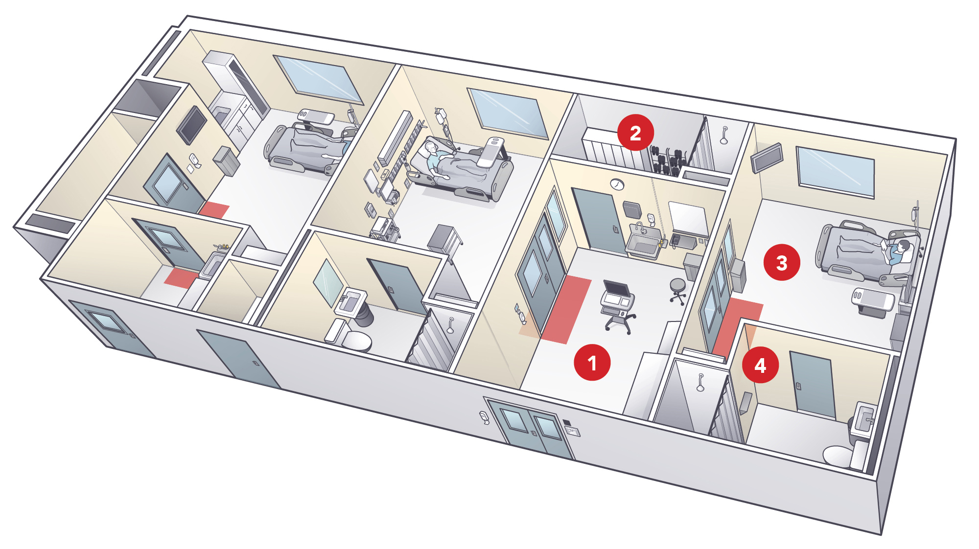 Inside Emory S Special Isolation Unit