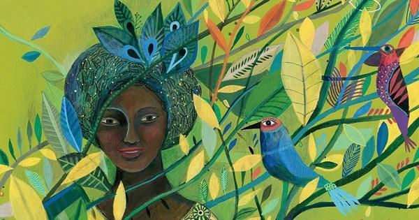 Painting of Wangar Maathai