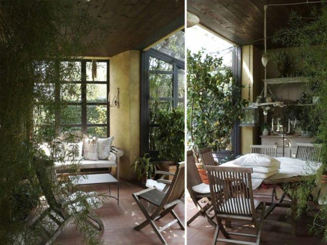 Come arredare giardino d'inverno