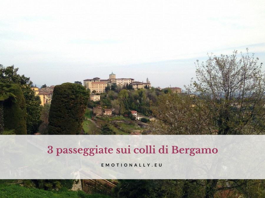 Sui colli di Bergamo: 3 passeggiate da non perdere