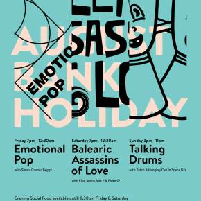 All The Shapes | August Bank Holiday Weekend | Emotional Pop, Balearic Assassins of Love & Talking Drums
