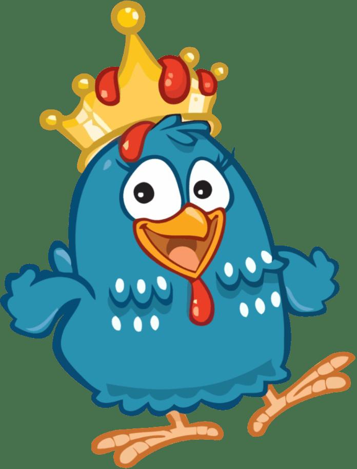 Galinha-Pintadinha-Coroa