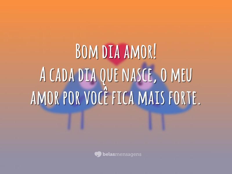 Imagens De Bom Dia Para Amor: Bom Dia Amor