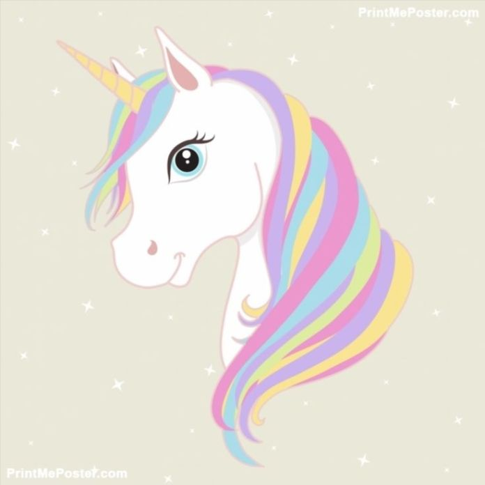 Por isso fizemos uma selecao de 30 desenhos de unicornio para colorir pintar e imprimir. Imagens de Unicórnio
