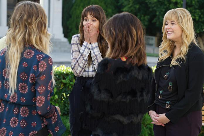"""PRETTY LITTLE LIARS - """"Till Death Do Us Part"""" - Seven seasons of secrets come tumbling out in the two-hour series finale of Freeform's hit original series """"Pretty Little Liars,"""" airing TUESDAY, JUNE 27 (8:00 - 10:01 p.m. EDT). Immediately following the finale, stars Troian Bellisario, Ashley Benson, Lucy Hale, Shay Mitchell and Sasha Pieterse, as well as executive producer I. Marlene King, will sit down for an hour-long unbarred and uncensored tell-all after-show to discuss all of the series' tightly held secrets, behind-the-scenes insights, and top moments. Fans can catch up on all of the drama with an all-day marathon of season seven starting at 11:00 a.m. EDT and running up to the two-hour series finale at 8:00 p.m. EDT. (Freeform/Eric McCandless) TROIAN BELLISARIO, SASHA PIETERSE"""