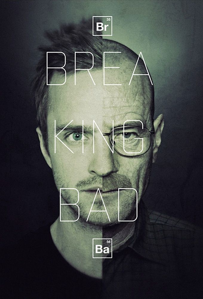 Phenomenon, which has become the poster prepared for a series Breaking Bad. A very successful operation.