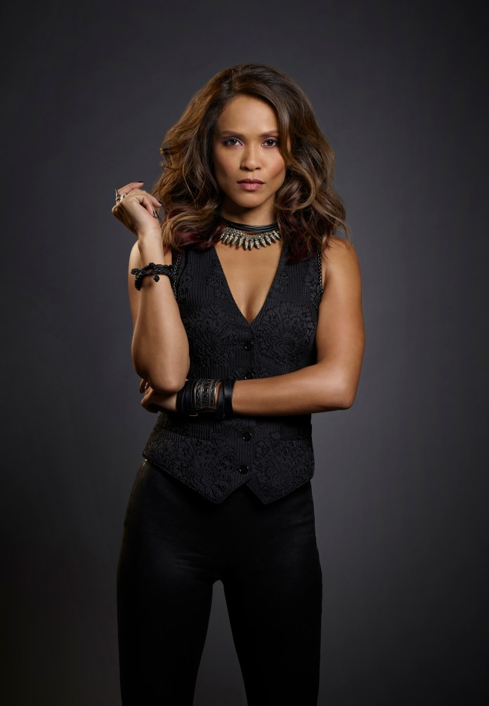 LUCIFER: Pictured: Lesley-Ann Brandt as Maze. ©2015 Fox Broadcasting Co. CR: Smallz and Raskind/FOX