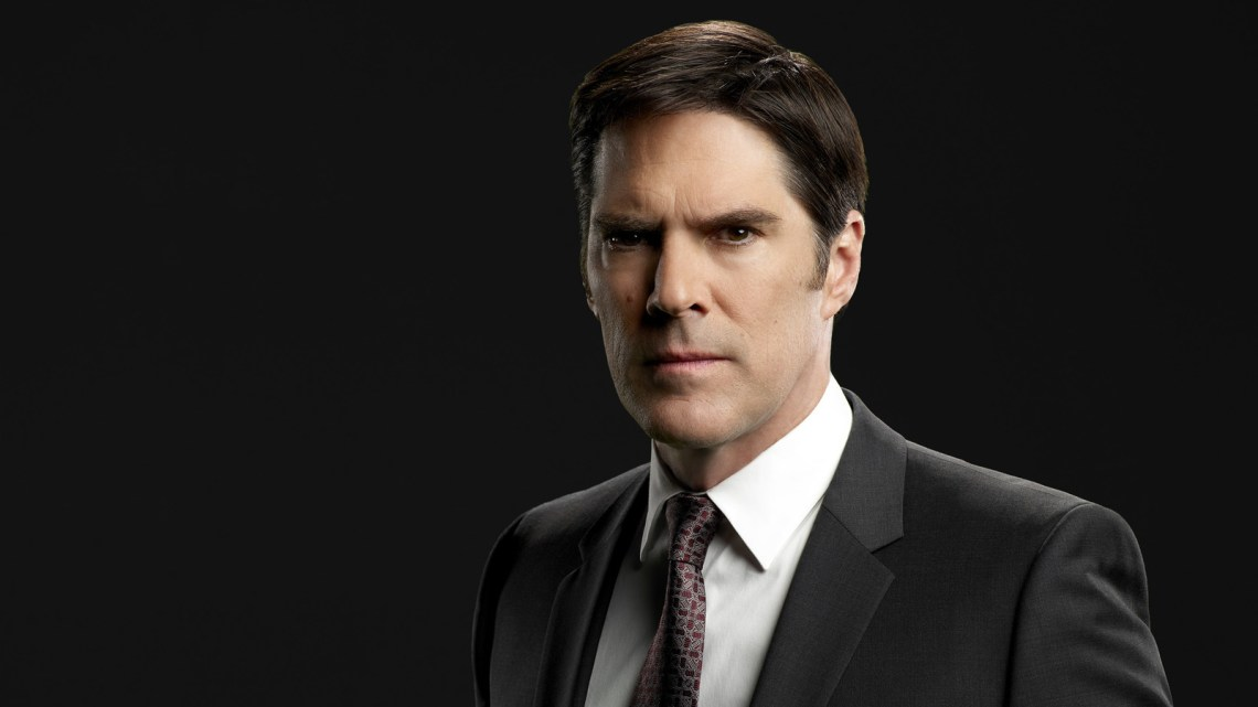"CRIMINAL MINDS - ""Criminal Minds"" stars Thomas Gibson as Aaron Hotchner. (ABC Studios/Cliff Lipson)"