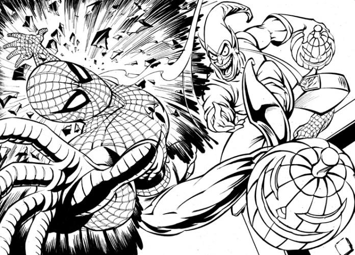Spider-Man Vs. Green Goblin - Hildebrandts - Siriwardane