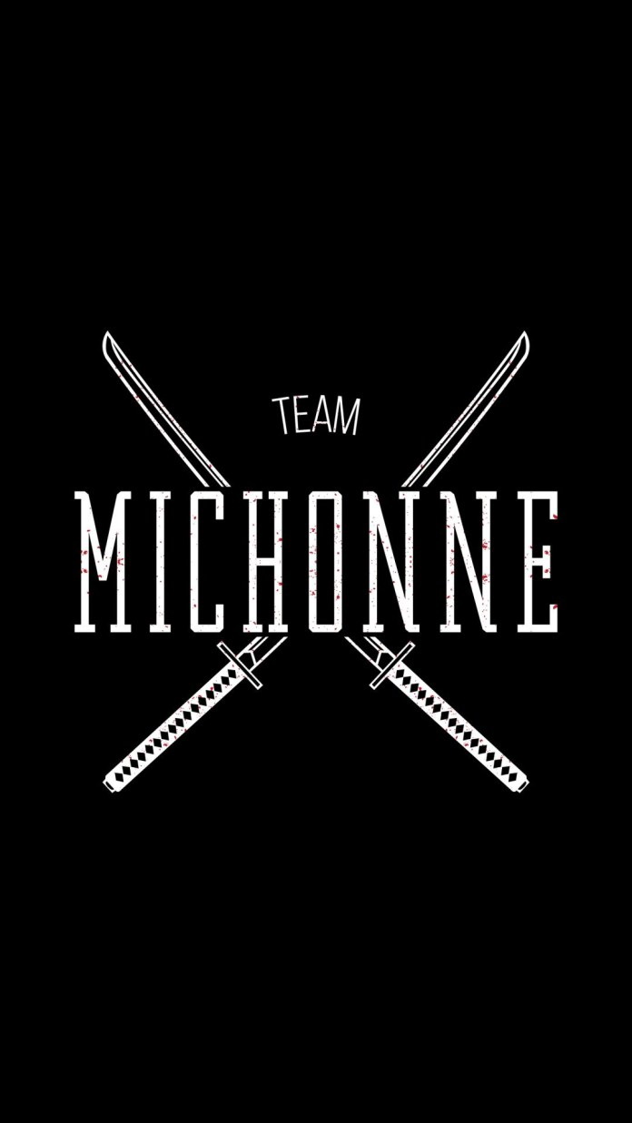 The Walking Dead Team Michonne Android Wallpaper