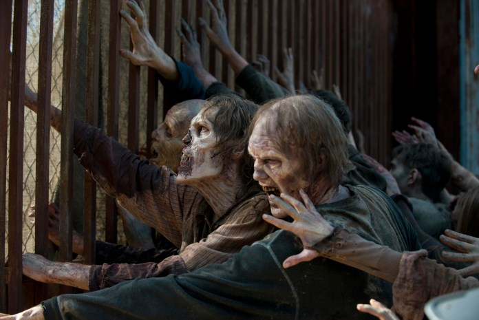 Walkers - The Walking Dead _ Season 5, Episode 5 - Photo Credit: Gene Page/AMC