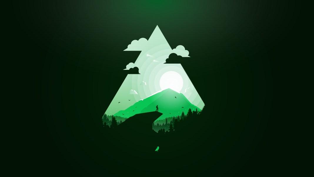 green_paradise_minimal_4k-HD