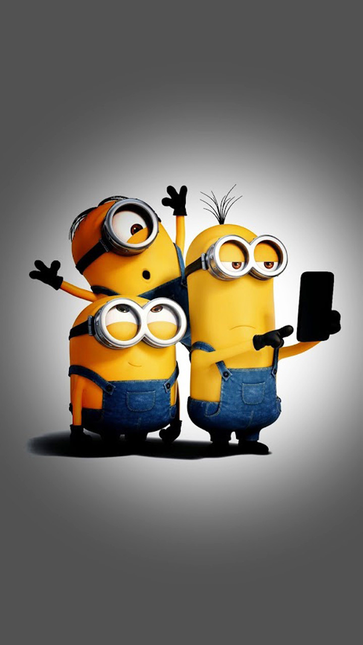 minions_selfie_time