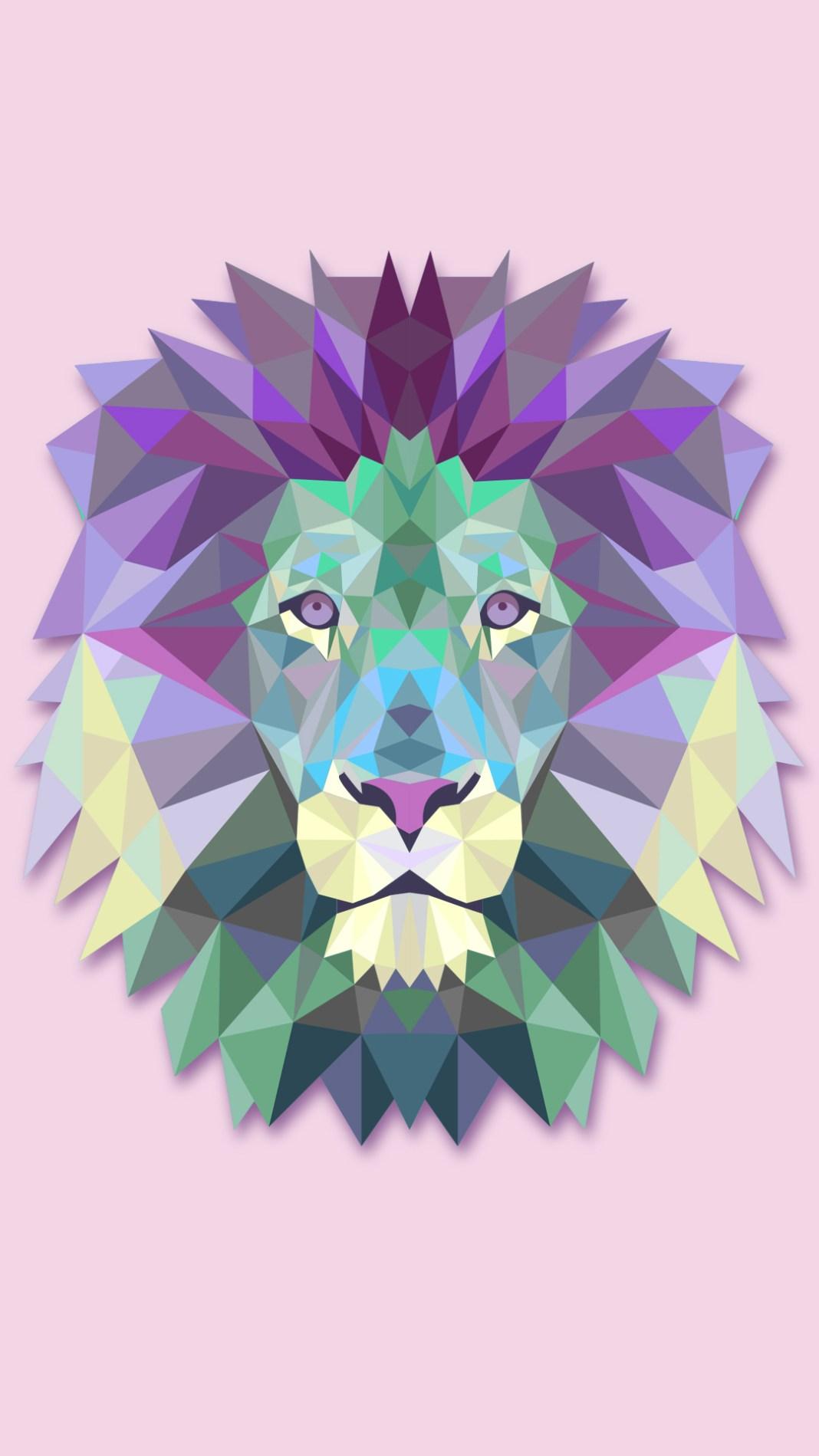polygon-lion-1136