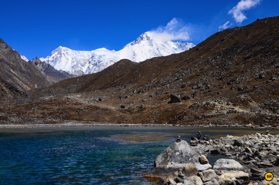 Everest-Base-Camp-via-Gokyo-Ri-Indiahikes-Arun-nayak-Gokyo-lake