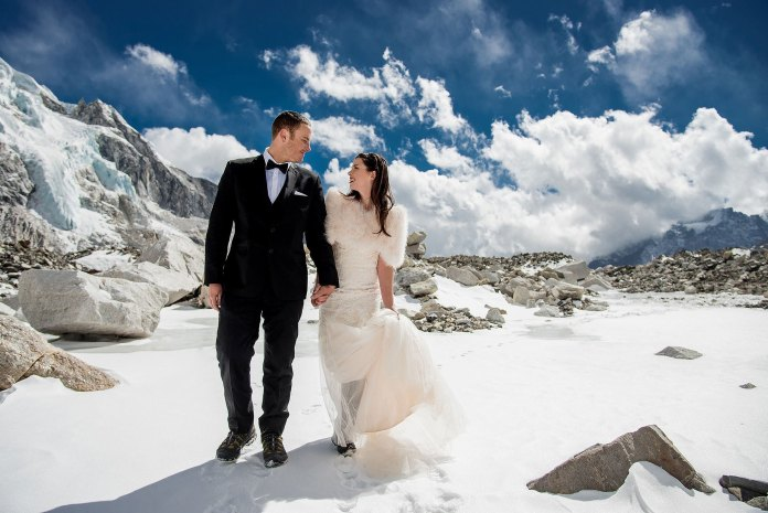 Adventure Wedding Photographer, Charleton Churchill Mt. Everest Base Camp Adventure Wedding, married at base camp of Mt. Everest. Original Everest Wedding Blog posted at: http://charletonchurchill.com/mount-everest-base-camp-adventure-wedding-elopement/