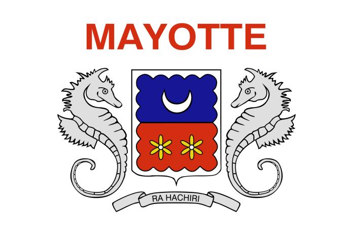 Bandeira de Mayotte