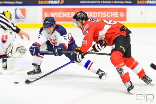 Sportfotografie Eishockey Österreichisches Nationalteam Raphael Herburger Graz - emotioninpictures / Mario Bühner