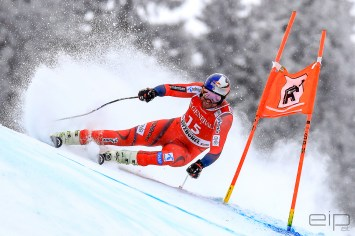 Sportfotografie Super G Ski Weltcup Aksel Lund Svindal Kitzbühel - emotioninpictures / Mario Bühner