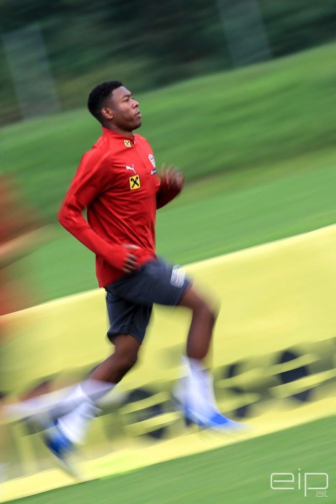 Sportfotografie Fußball David Alaba Bad Waltersdorf - emotioninpictures / Mario Bühner / Fotograf aus Graz