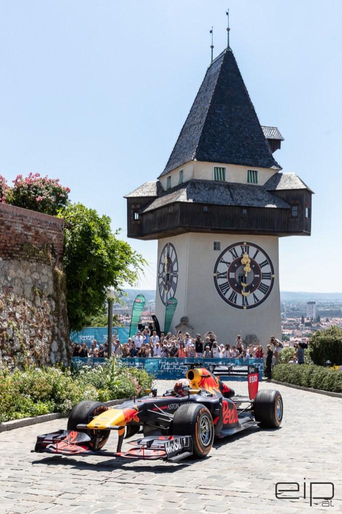 Sportfotografie Formel 1 Showrun Max Verstappen Graz - emotioninpictures / Mario Bühner