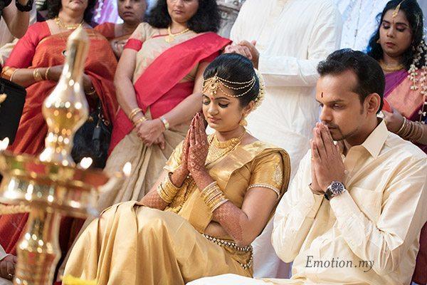 malayali-wedding-bride-groom-ceremony-kuala-lumpur-sanjeev-reshmi