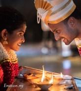 Kalamandapam Ceylonese Wedding: Dushyant + Shivaani