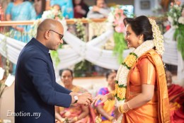 Indian Engagement Ceremony: Ruthra + Vanitha