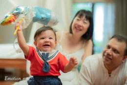 Happy Family: Baby Ryan's Portraits