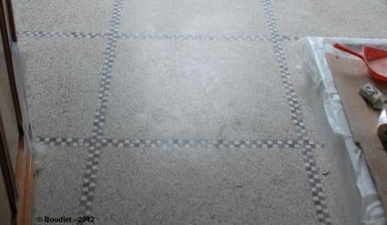 Renovation treatment and maintenance of granito terrazzo