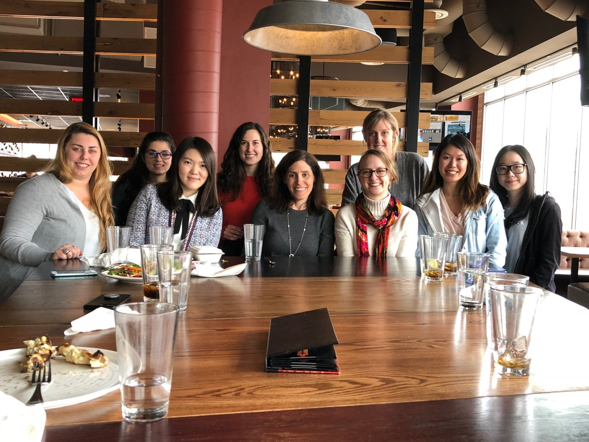 Robin Nabi, UCSB, visits with the Media Psychology Lab at PSU in April 2018.
