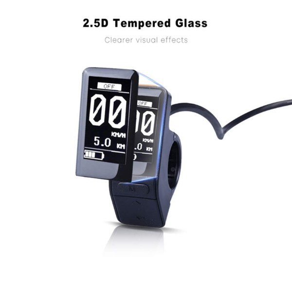 SW102 Ultralight Small Mini Ebike LCD Display for Bafang BBS