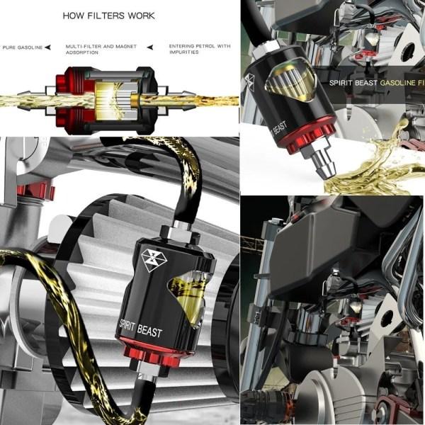 Motorbike Universal Gasoline Filter