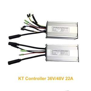 36V 48V 22A KT Controller 9-Tube Ebike Speed Motor Controller for 500W 750W