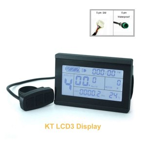 Ebike 24V 36V 48V Display KT-LCD3 LCD Display Meter for Bicycle Modification