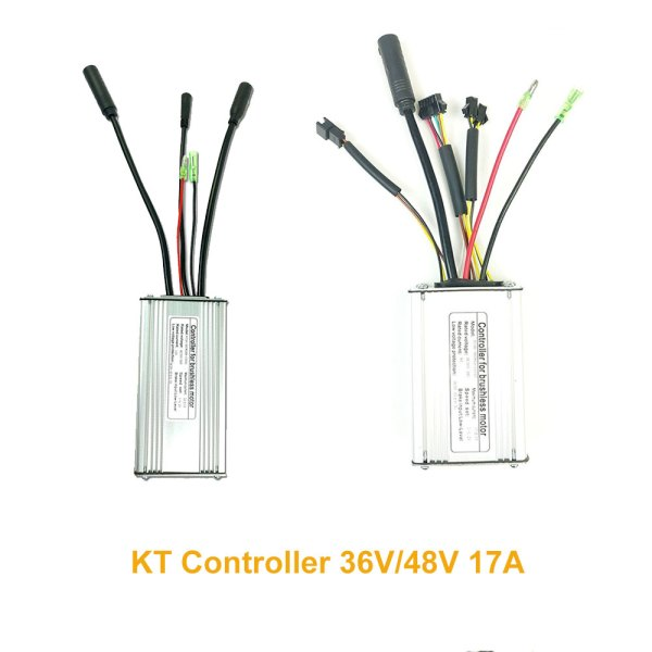 Electric Bicycle KT kunteng Controller 36V 48V 17A for 250W 350W Brushless Motor