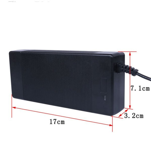 2A Ebike Lithium Battery Charger Li-ion Battery Pack Charger for Electric bike DC XLR RCA