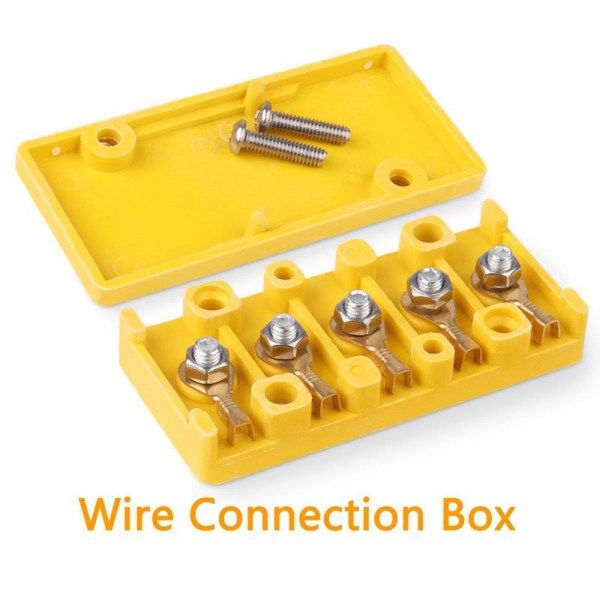 Wiring Connection Box Wire Connecting Box Big Current Box For Electric Bike Kit