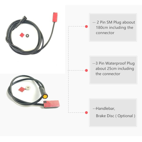 Electric Bike Brake Sensor MS-BK-2R Ebike Hydraulic Cut Off Power Brake Sensor