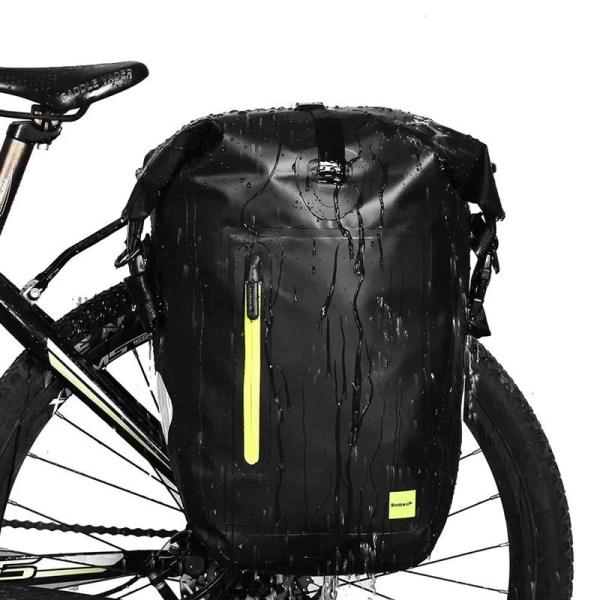 Rhinowalk 25L Waterproof Bike Back Camel Bag Cycling Rear Seat Bag Shoulder Bag