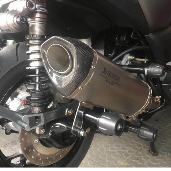 Motorcycle Adjustable Exhaust Pipe Sliders Falling Protector